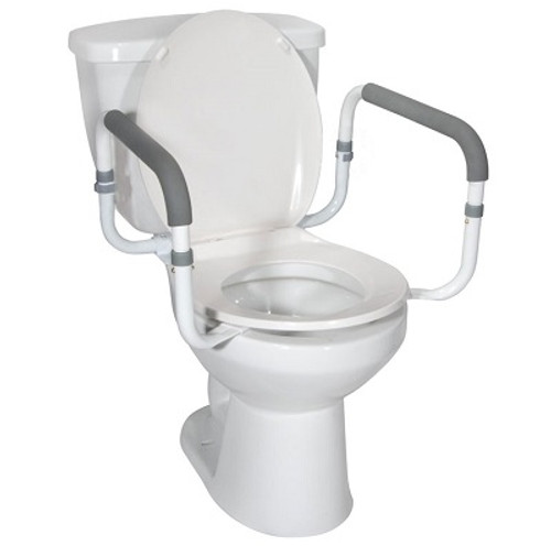 MOBB Toilet Safety Rail on toilet MHRTSR | UPC 844604015868