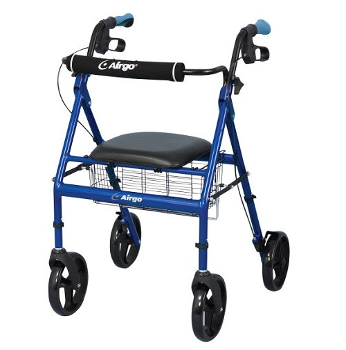 Airgo Lightweight Rollator - Pacific Blue | UPC 754021213153