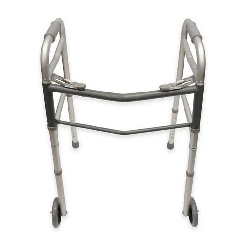 Bios Medical Folding Walker with Wheels   UPC 057475560041