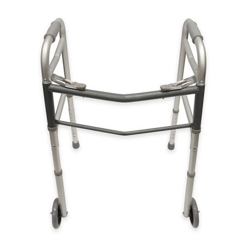 Bios Medical Folding Walker with Wheels | UPC 057475560041