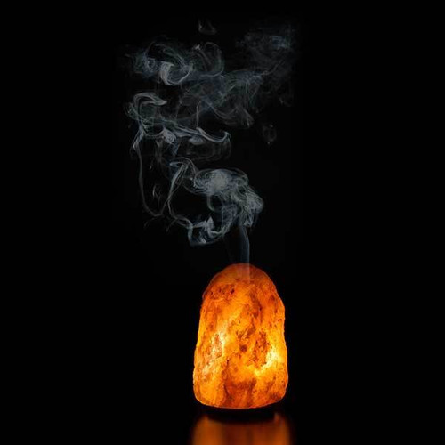 Relaxus Himalayan Salt Lamp Diffuser 504011 | UPC 628949040118