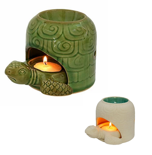 Relaxus Turtle 2-in-1 Diffuser and Candle Holder | 517112, 517113