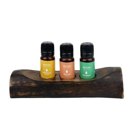 Relaxus Aromatherapy Relaxation Essential Oil Set - 3 piece | Energy 508661 | UPC 628949086611