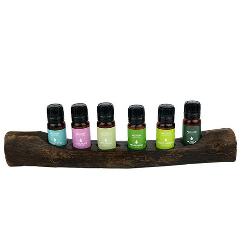 Relaxus Aromatherapy Mix of 6 Essential Oil Set   Signature 6   SKU: 508663   UPC 628949186632
