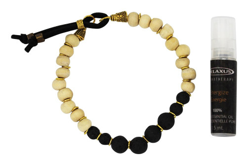 Relaxus Aroma Mala Bracelet Kit with spray  | SKU: 504684, 504680, 504672, 504676, 504682, 504674, 504678, 504670