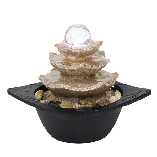 Relaxus Zen Pagoda Indoor Water Fountain | SKU: 700470 | UPC: 628949004707