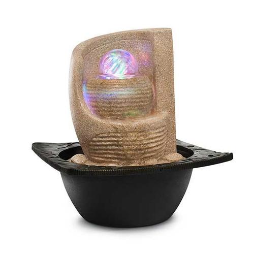 Relaxus Zen Fan Indoor Water Fountain | SKU: 700456 | UPC 628949004561