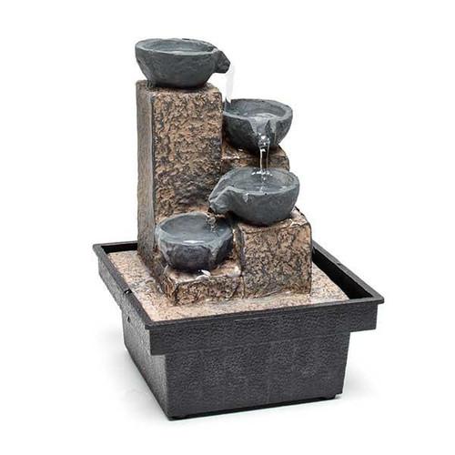 Relaxus Mini Baskets Indoor Water Fountain 700458 | UPC 628949004585