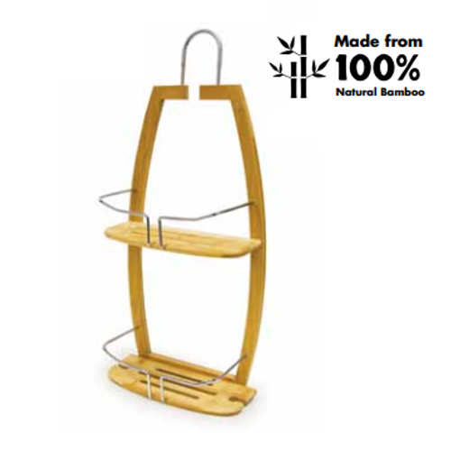 Bios Medical Bamboo Shower Caddy 60065 | UPC 057475600655