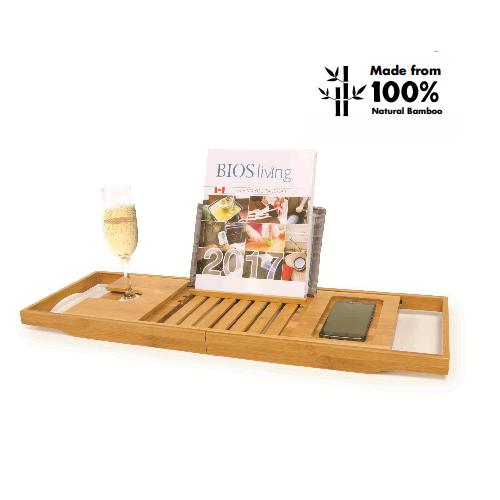 Bios Medical Bamboo Bathtub Caddy 60056 | UPC 057475600563