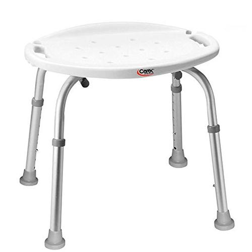 Carex Adjustable Bath and Shower Seat - FGB650CA | UPC 627394026500