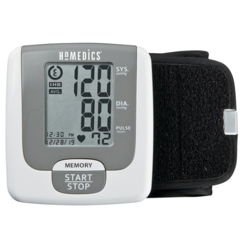 HoMedics Portable Wrist Blood Pressure Monitor - 60 Memories -  HOM-BPW-715