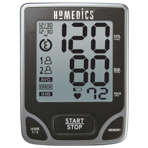 HoMedics Deluxe Arm Blood Pressure Monitor with Smart Measure™ Technology - Dual User -  HOM-BPA-065
