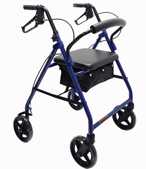 "Mobb Economy Aluminum Rollator with 8"" Wheels MHRL08BE | UPC 844604007450"