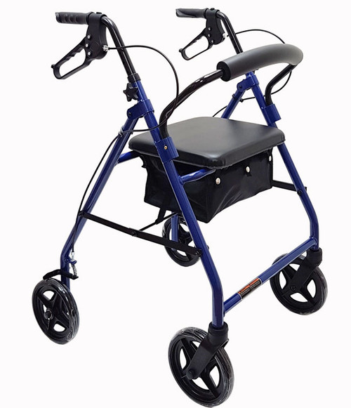 "Mobb Economy Aluminum Rollator with 8"" Wheels MHRL08BE 