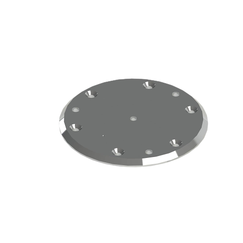 HealthCraft Advantage Portable Floor Plate   SKU-HEA-AR-FP   689281000796