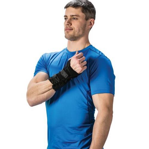 Core Products Swede-O PowerWrap Wrist Brace Black   Left SKU: WST-6894, Right SKU: WST-6895   UPC:782944689441, 782944689540