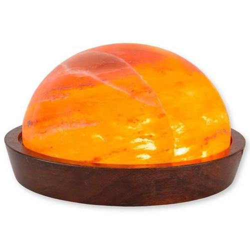 Relaxus Himalayan Salt Lamp Dome | 504046 | UPC 628949140467