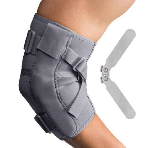 Core Products Swede-O Thermal Vent Hinged Elbow | SKU: BRE-6522-GR-SML, BRE-6522-GR-MED,BRE-6522-GR-LRG, BRE-6522-GR-1XL, BRE-6522-GR-2XL | UPC: 743912713025, 743912713032, 743912713049, 743912713056,743912713063