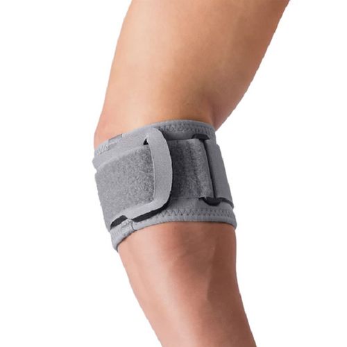 Core Products Swede-O Thermal Vent Tennis Elbow Support with pad | SKU: BRE-6524-GR-SML, BRE-6524-GR-MED, BRE-6524-GR-LRG, BRE-6524-GR-1XL | UPC:  743912710024, 743912711038, 743912711045, 743912711052
