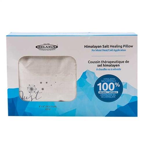 Relaxus Himalayan Salt Healing Pillow | REL-504065 | UPC 628949040651