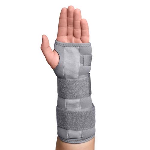 Core Products Swede-O Thermal Vent Wrist Forearm Splint-Left | SKU: BRE-6856-L-GR-SML, BRE-6856-L-GR-MED, BRE-6856-L-GR-LRG, BRE-6856-L-GR-1XL | UPC: 743912701022, 743912701039, 743912701046, 743912701053