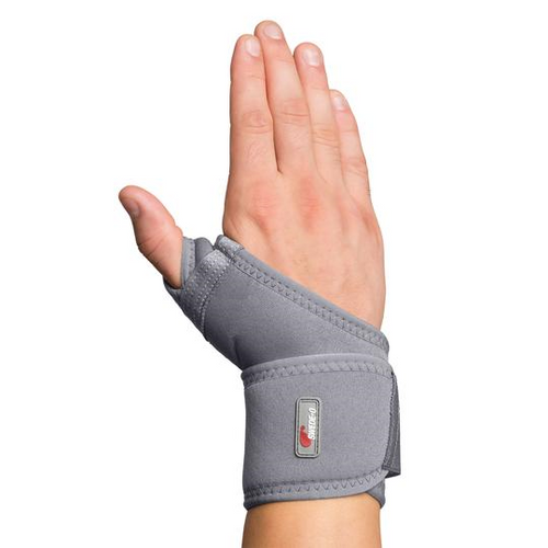 Core Products Swede-O Thermal Vent Universal Wrist Wrap with Pad | SKU: BRE-6858-GR-SMD, BRE-6858-GR-LXL | UPC: 743912705129, 743912705143