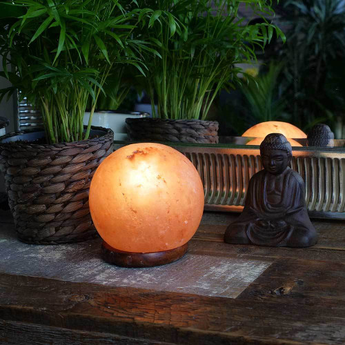 Relaxus Feng Shui Himalayan Salt Lamp   REL-L0153   UPC 628949101536