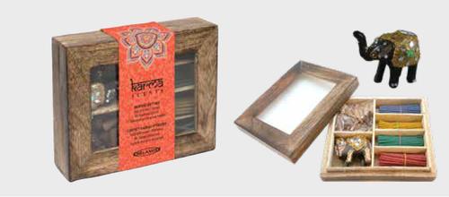 Relaxus Karma Incense Wood Gift Box | REL-508801 | UPC 628949188018
