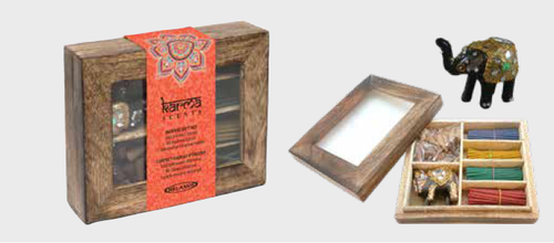 Relaxus Karma Incense Wood Gift Box | REL-508801 | UPC 628949188018