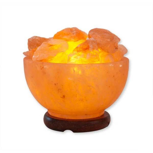 Relaxus Himalayan Salt Lamp - Bowl of Fire | REL-L015 | UPC 628949001591