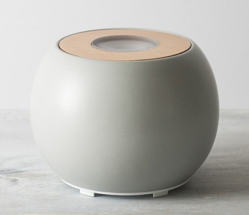 Ellia by HoMedics Balance Ultrasonic Aroma Diffuser | Grey | UPC 031262072894
