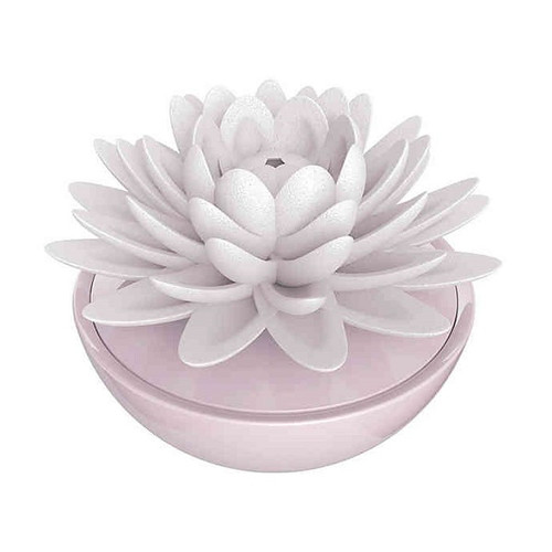 Ellia by HoMedics Calm Waters Porcelain Aroma Diffuser | Pink | UPC 031262089014