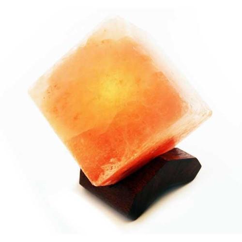 Relaxus Himalayan Salt Cube LED Lamp   REL-504052   628949140528