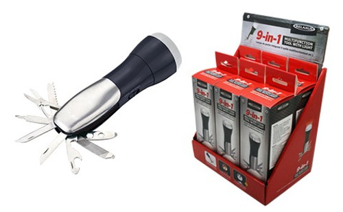 Relaxus 9-in-1 Multi-Function Tool Light  | REL-535108