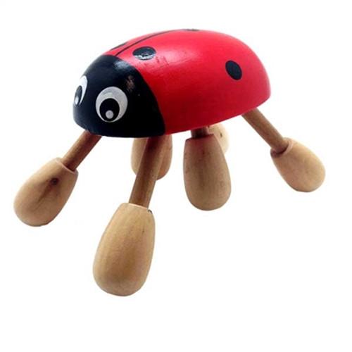 Relaxus Wood Ladybug Massager | REL-706309