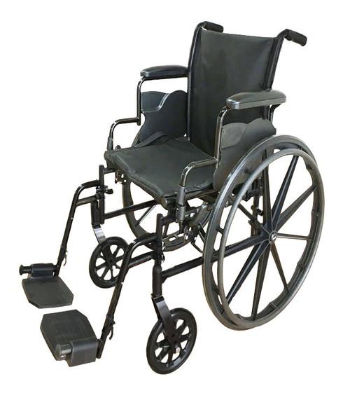 Mobb Lightweight Steel Wheelchair | MHWC1016, MHWC1018, MHWC1020 | 844604006880, 844604006873, 844604006866
