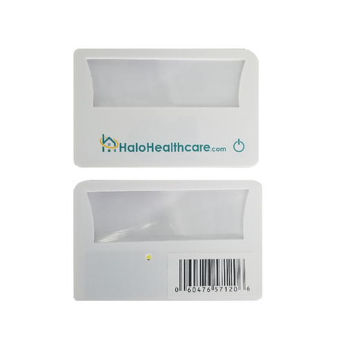 Halo Healthcare Magnifier Credit Card with LED Light |