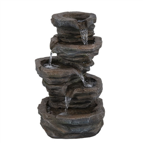 Relaxus Cascading Waterfall Fountain -  REL-700469