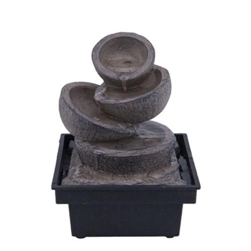 Relaxus Mini Bowl Indoor Water Fountain -  REL-700475