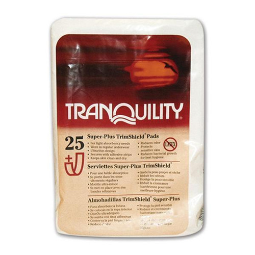 Tranquility TrimShield Pads Super Plus   Pack Image