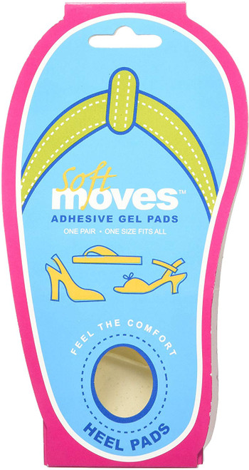Medi-Dyne Tuli's Soft Moves Heel Gel Pads - 1 Pair -  MDD-SM00010