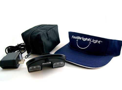 Northern Light Technologies PEP Feel Bright Light Visor  | UPC: 183415000008