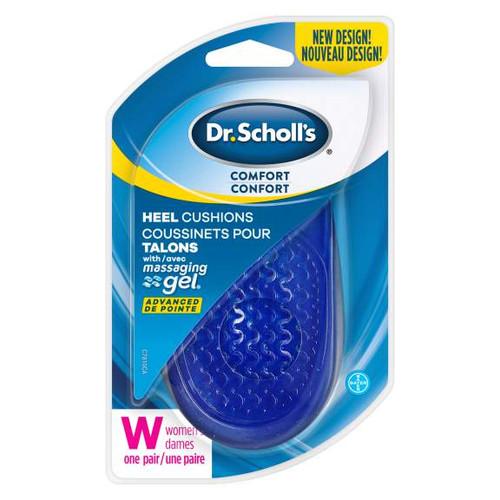 Dr. Scholl's® Comfort Heel Cushions with Massaging Gel® Advanced Women's 1 Pair -  DRS-104370