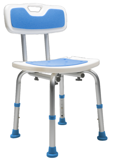 Airway Surgical PCP Padded Bath Safety Seat with Backrest | UPC: 48503710309