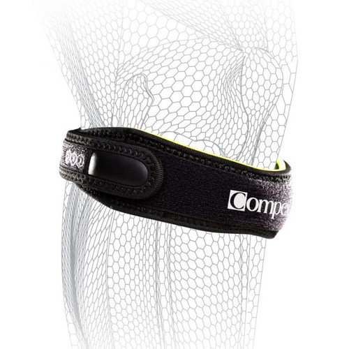 Compex Pinpoint Knee Strap Black | 83-0023-ML, 83-0023-XL, 83-0023-XSS | Medium/Large, Large/X-Large, XS/Small