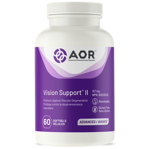 AOR Vision Support II 60 soft gels | 624917041774
