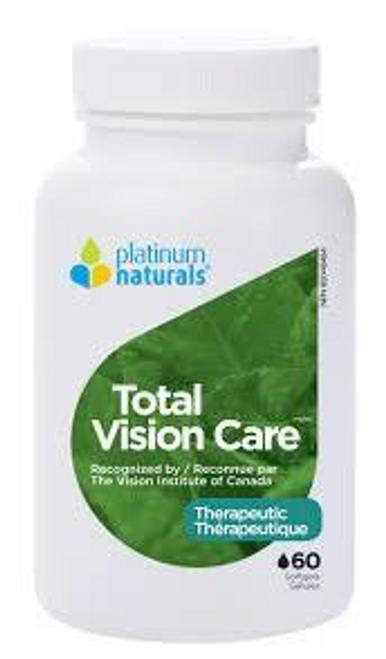 Platinum Naturals Total Vision Care 60 Softgels | 773726031473