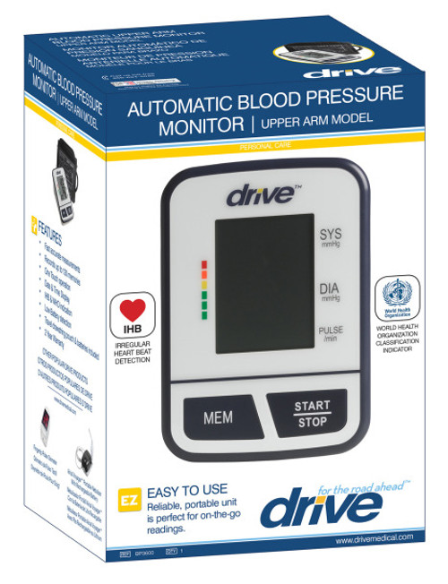 BP3600 Economy Automatic Blood Pressure Monitor in box