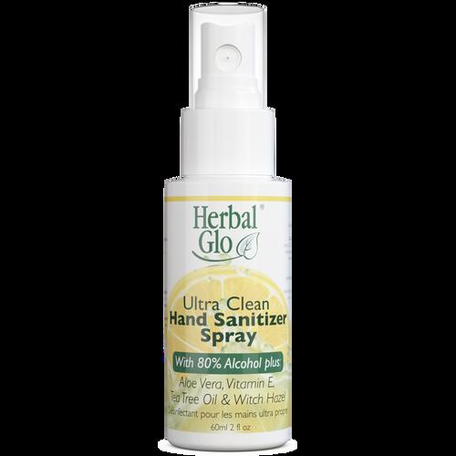 Herbal Glo Ultra Clean Hand Sanitizer Spray 60mL -  HBG-1045-001